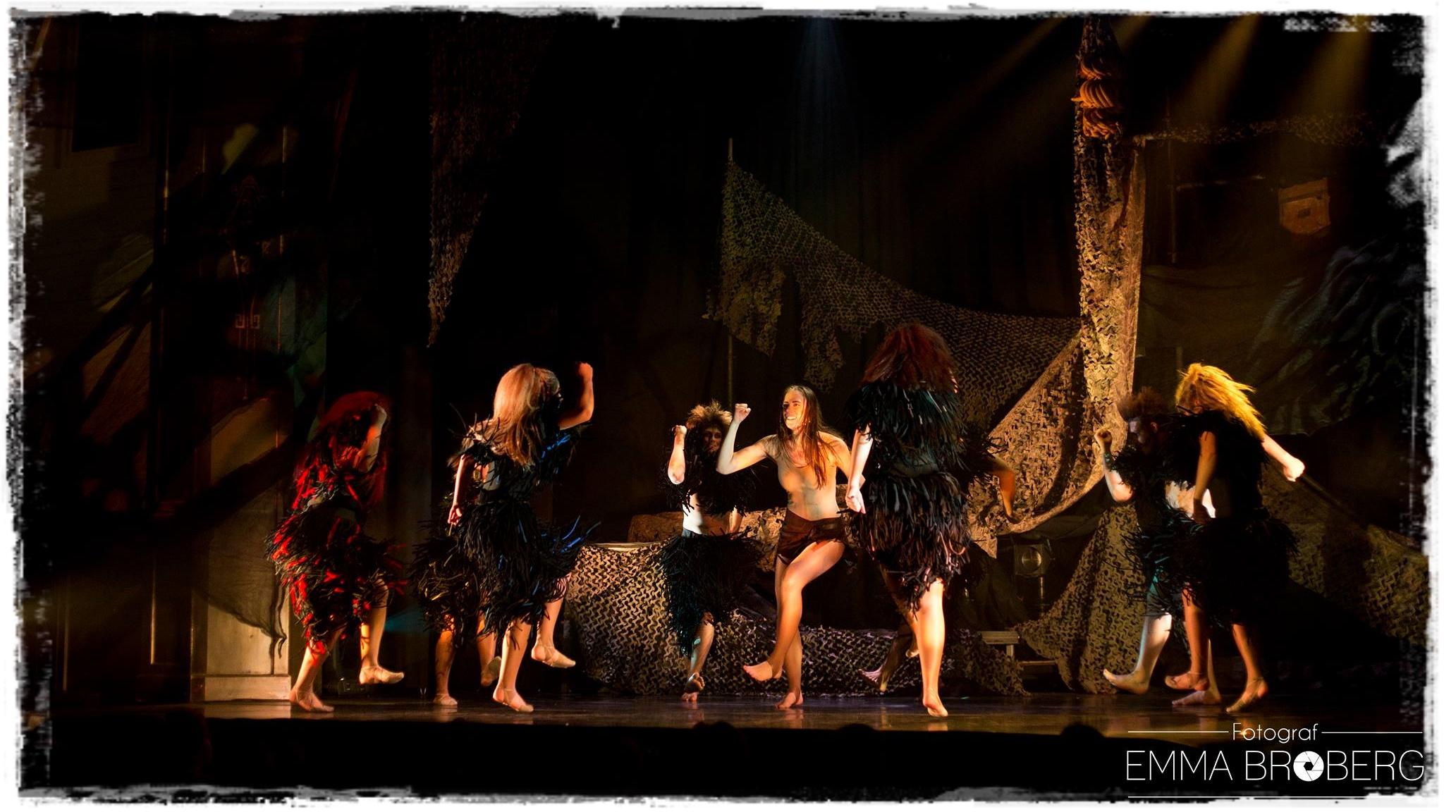 Dansföreställningen Tarzan, Leksand